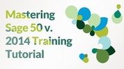 Thumbnail Accounting Program Sage 50 2014 Training Tutorial